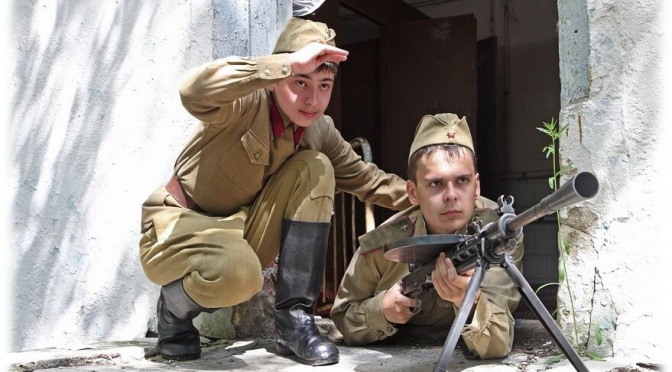 Военно-патриотические лагерные сборы «Духовный Воин». Программа «Миротворец» 2016 год